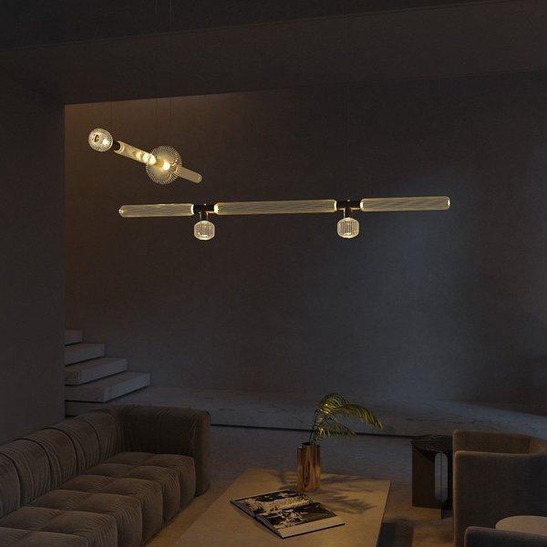 Cipher Horizontal S Pendant Lamp