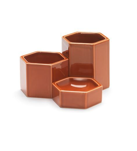 VITRA - Hexagonal Containers (Set of 3)