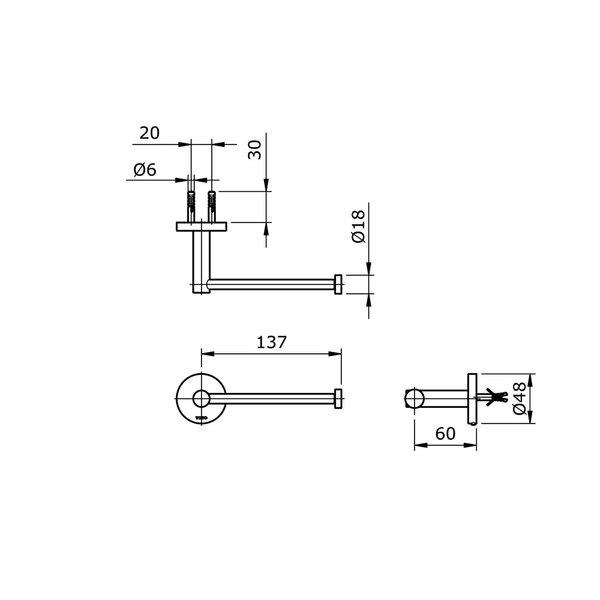 TX703AES - EGO II - Paper Holder