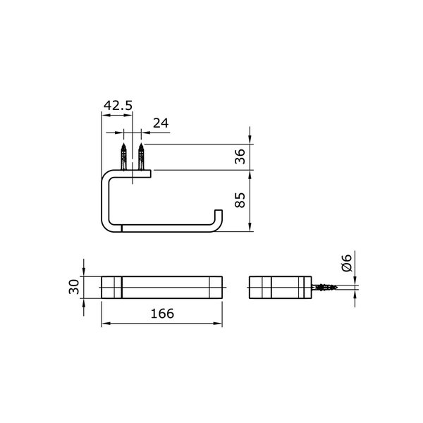 TX703AM - MONO - Paper Holder