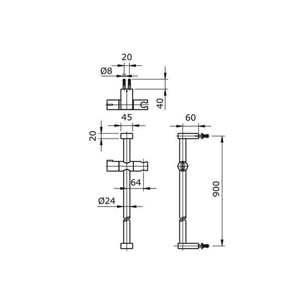 TX721AM - MONO - Sliding Rail