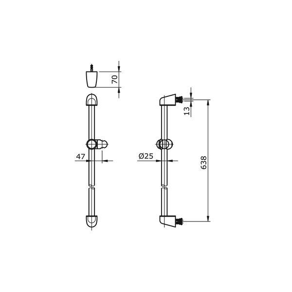 TX721AN - NATURA - Sliding Rail