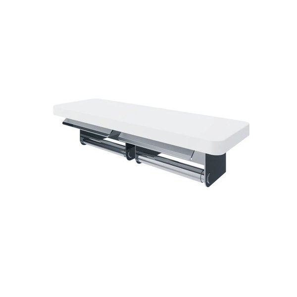 TX720MMBV1 - TOTO Double Paper Holder with Shelf