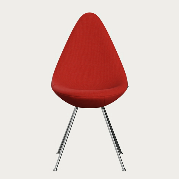 Drop Chair 3110 upholstered in fabric
