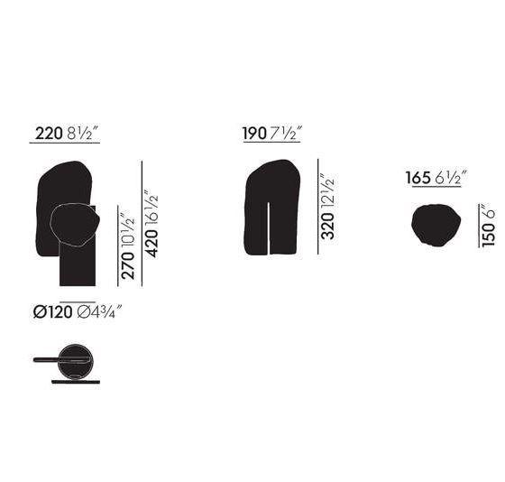 VITRA - Decoupage Vase Feuille