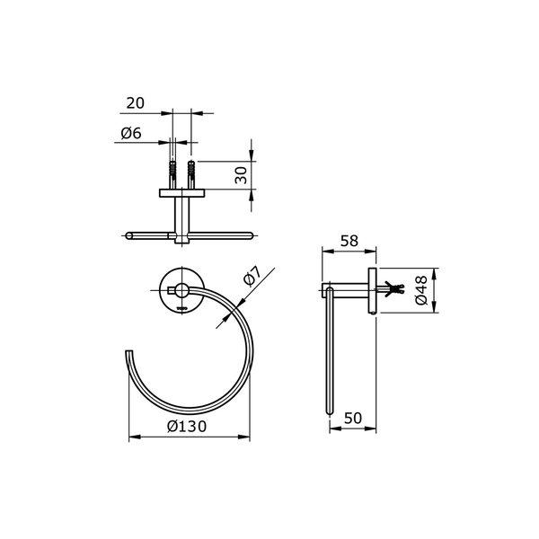 TX702AES - EGO II - Paper Holder