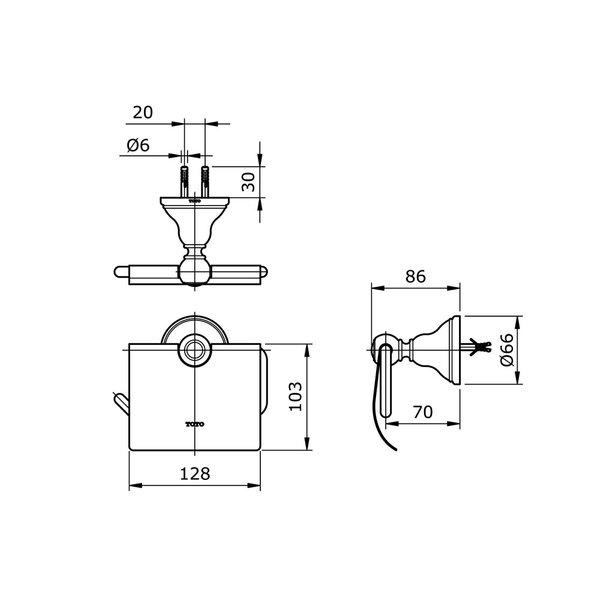 TX703AC - CURIO - Paper Holder