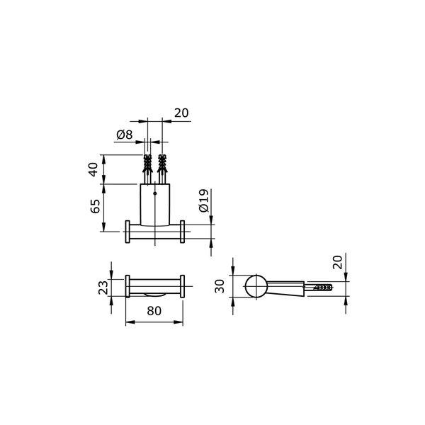 TX704ARR - REI R - Robe Hook