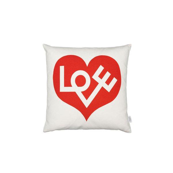 VITRA - Graphic Print Pollow (Love Heart Crimson)