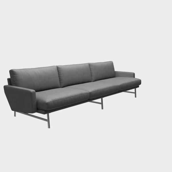 Lissoni Sofa PL113;  3-Seater
