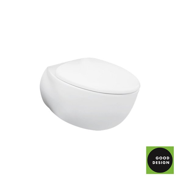 CW812RJT2 - LE MUSE - Wall Hung Toilet with Invisible Fixing Kit