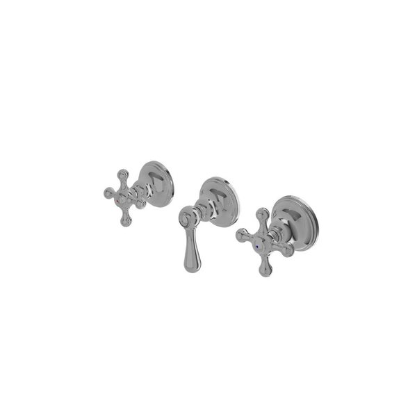 TX417SBCBR - CURIO - Cross Handle Mixing Valve for Bath & Shower with Diverter